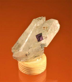 Fluorit, Quarz vom Sauberg