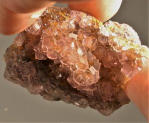 Fluorit, Okoruso, Namibia