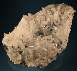 Bergkristall mit Bleiglanz Madan, Bulgarien